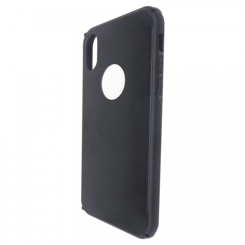 Capa Antichoque Glass Case Space Gray para iPhone X